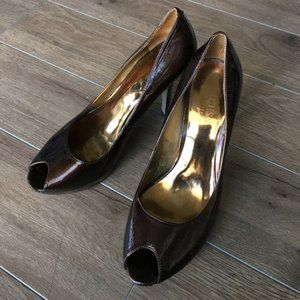 "Guess by Marciano open toe pumps 3"" heels"